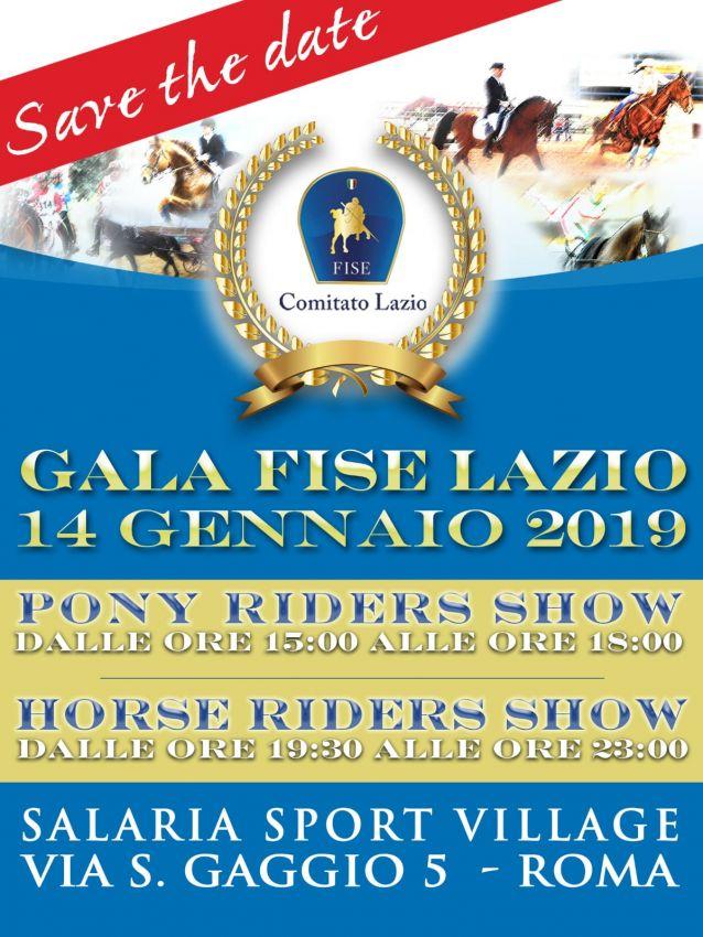 Fise Lazio Calendario.Gala Fise Lazio 2019